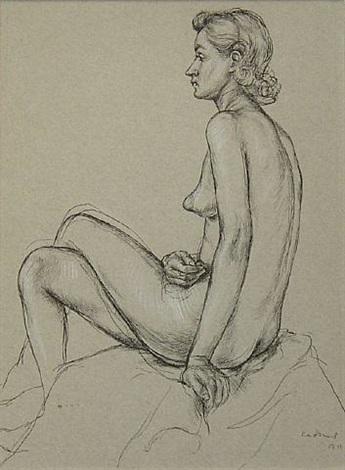 female nude b11 by paul cadmus