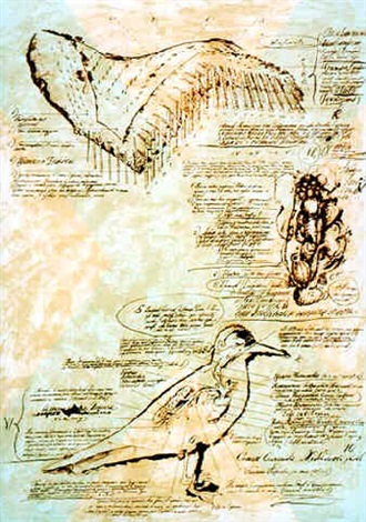 """from """"chekhov's seagull"""" series by igor makarevich"""