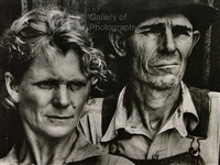 portrait of sharecropper and wife by margaret bourke-white
