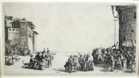 the slave market (le marche de esclaves) by jacques callot