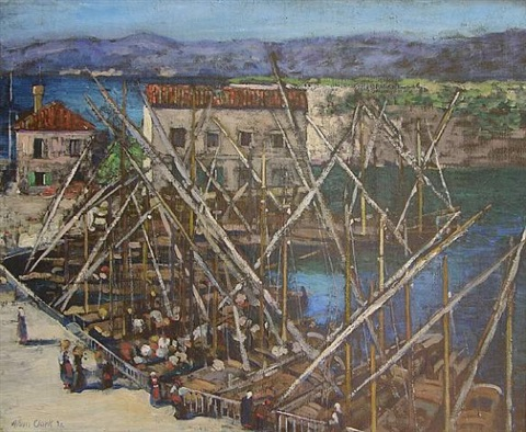 the harbor at zara by alson skinner clark