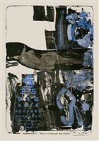 breakthrough ii by robert rauschenberg