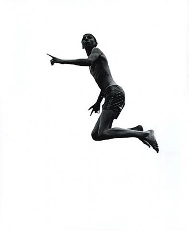 pleasures and terrors of levitation #55 by aaron siskind