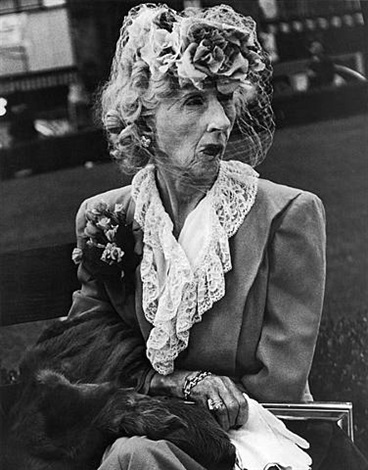 woman with veil, san francisco by lisette model
