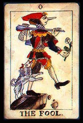 """the fool (from tarot """"esotericum"""" project) by igor makarevich"""