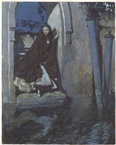 venise by edmund dulac