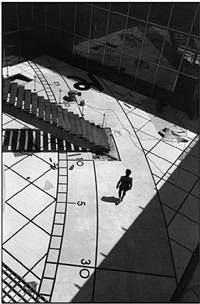 grande arche de la defense, paris by martine franck