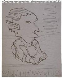 portrait profile by william l. hawkins