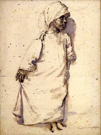 study of an arab girl by erich wolsfeld