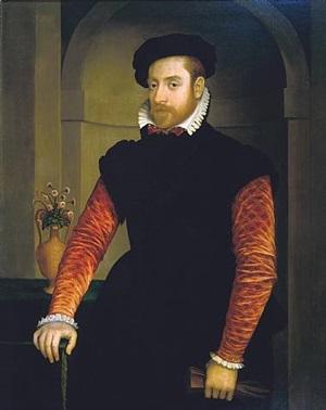 portrait of a man by nicolas neufchatel