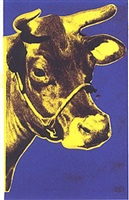 cow 12 by andy warhol