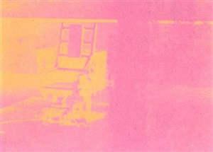 electric chair by andy warhol