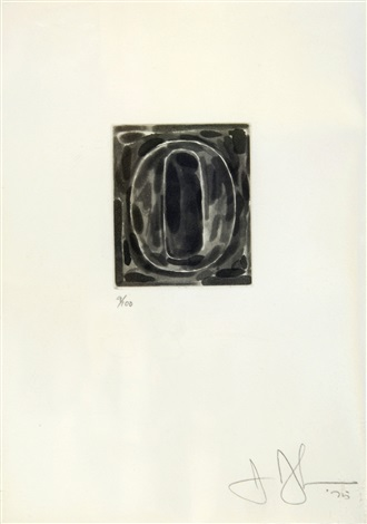 artwork 0 by jasper johns
