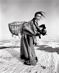 mongolian women--hexigenamuhu (age 29), inner mongolia, april by a yin