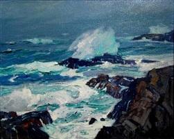 monterey coast, california by william ritschel