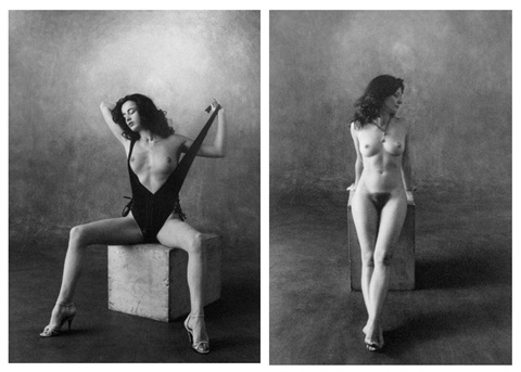 irene michele 2 prints by christian vogt