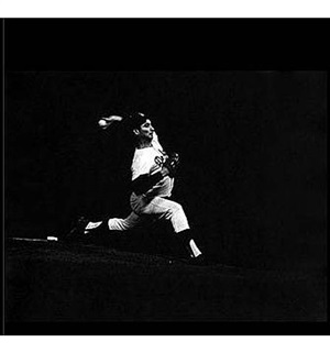 "sandy koufax,""the giant killer"", june, 1963 by leigh weiner"