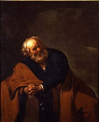 saint peter by dirck van baburen