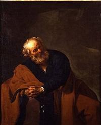 saint peter by dirck van baburen