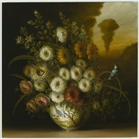 flower vase and nest by david kroll