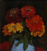 floral still life by walt kuhn