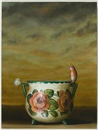 rose vase by david kroll