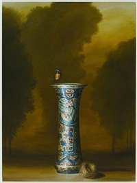 vase with nest by david kroll