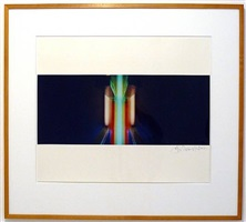 photograph: untitled (flavin) by john chamberlain