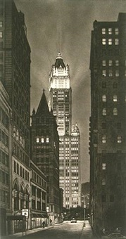 beacon (woolworth building) by frederick mershimer