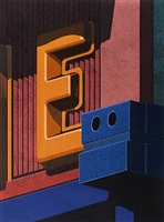 an american alphabet: e by robert cottingham
