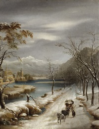 nevicato nel inferno vallese by annibale angeolini