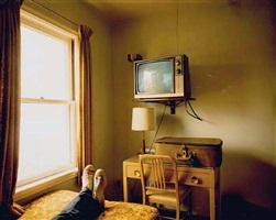 room 125, west bank motel, idaho falls, id, july 18, 1973 © stephen shore by stephen shore
