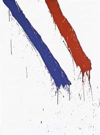 sans titre (série bleu blanc rouge) by serge lemoyne