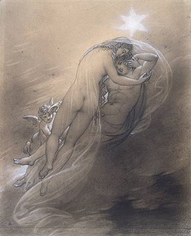 cephalus and aurora by anne-louis girodet de roucy-trioson