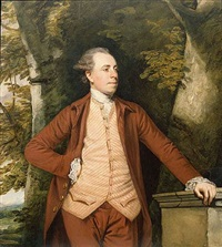 portrait of richard crofts of west harling, norfolk by joshua reynolds