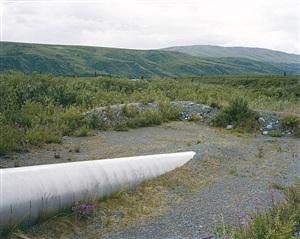 trans-alaska pipeline system, alaska by mitch epstein