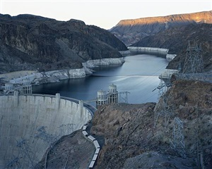 hoover dam and lake mead, nevada 2007 (from american power) by mitch epstein