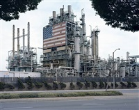 bp carson refinery, california 2007 (from american power) by mitch epstein