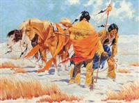 indian scouts by frank l. miller