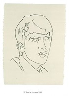 george harrison by andy warhol