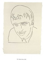 ringo starr by andy warhol