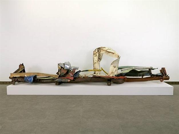 gondola charles olson (view 2) by john chamberlain