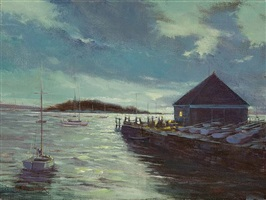 tuxis island (sold) by james magner
