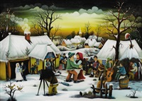 winter wedding by miland nad