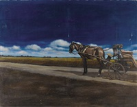horse and carriage by zoran nastic