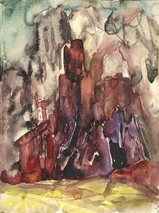 works on paper from the estate of boris anisfeld by boris izrailovich anisfeld