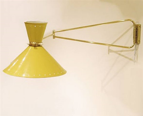 yellow lamp for lunel