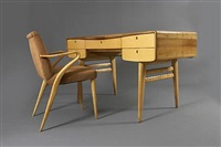 desk and chair by guglielmo ulrich