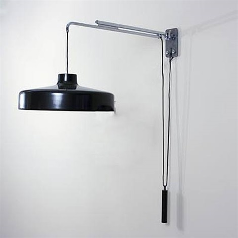 wall lamp/ model # 194 n for arteluce by gino sarfatti
