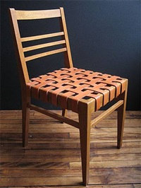 sixteen chairs by rené gabriel